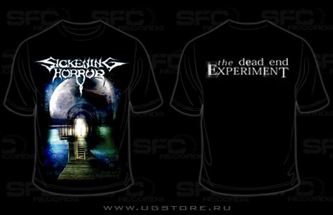 Sickening Horror футболка The Dead End Experiment