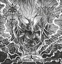 Exterminio / Pogost - Diabolical Psalms. Split CD