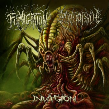 Fumigation / The Path To R'Lyeh - Invasion. Split CD