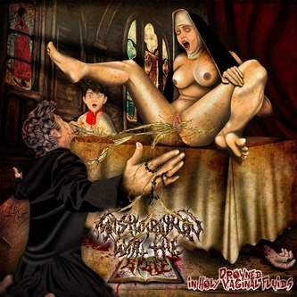 Masturbation With The Bible - Drowned in Holy Vaginal Fluid